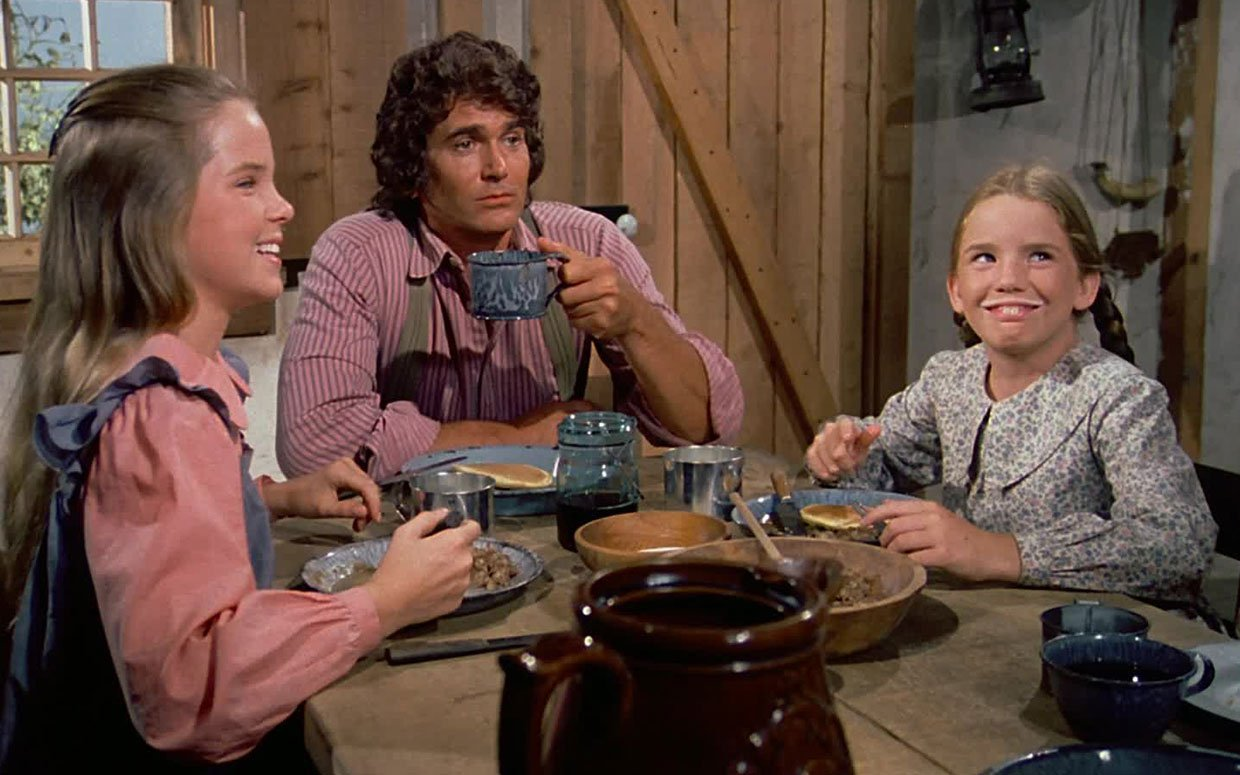 Little House on the Prairie dinner table