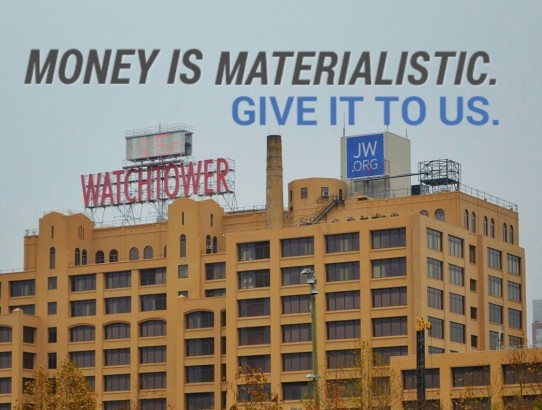 Watchtower Brooklyn Not Giving Enough After Multi Million Profits