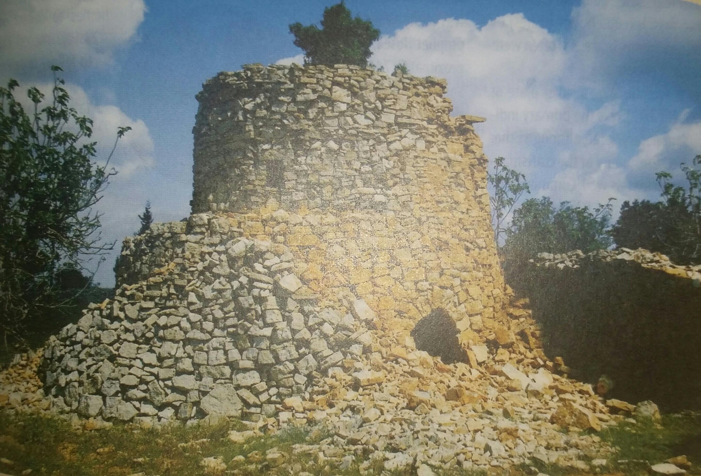 A watchtower in Jerusalem.