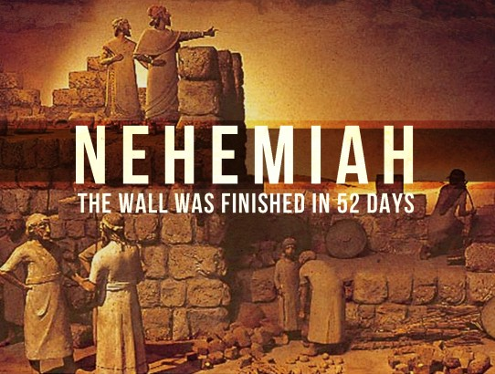 TRUMP WANTS NEHEMIAH WALL. POPE SAYS UNCHRISTIAN