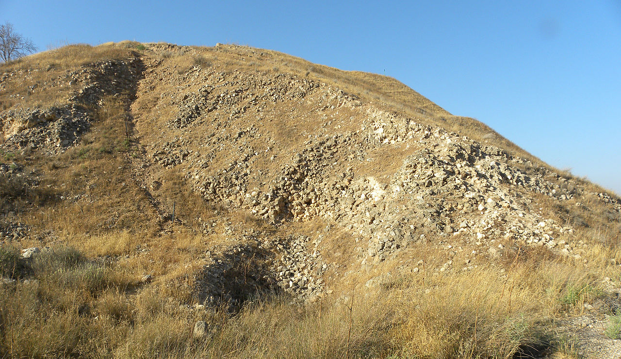 Siege ramp lachish