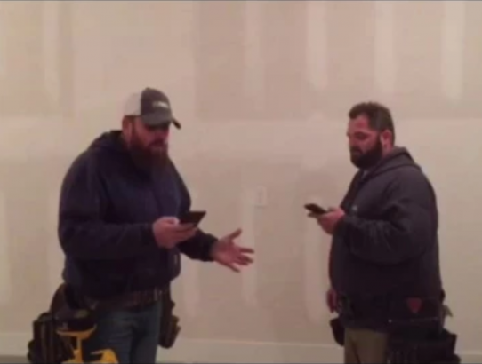 "Contractors Singing ""Mary Did You Know"" Go Viral"