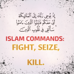 Islam Quran Commands Muslims to Kill. (Scripture List)